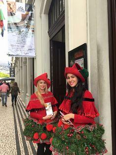 """Exposição da Bordal """"Mesas de Natal com Bordado Madeira"""" no Teatro Baltazar Dias #bordal #mesasnatalcombordadomadeira"""