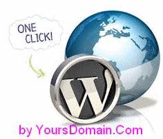 Wordpress Hosting – Install Wordpress in 1-click with QuickInstall   YoursDomain.Com Web Hosting Blog