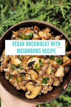 Buckwheat, Mushroom Recipes, Benefit, Stuffed Mushrooms, Meat, Chicken, Food, Stuff Mushrooms, Essen