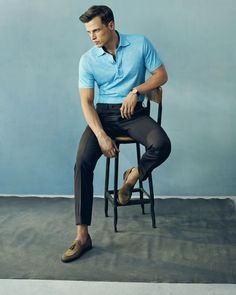 6 Ways To Wear Polo — Men's Fashion Blog - #TheUnstitchd