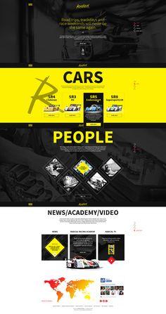 Radical Webdesign #webdesign #web #design #piotr #wolniewicz #portfolio #inspiration #art #direction