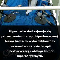 Do komory hiperbarycznej pacjent może tylko wejść w bawełnianym ubraniu.