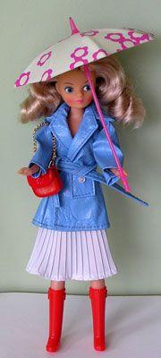 Jolly Brolly daisy doll