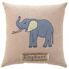 Elephant Decorative Pillow - Kids - Decorative Pillows - Linens & Fabrics   HomeDecorators.com