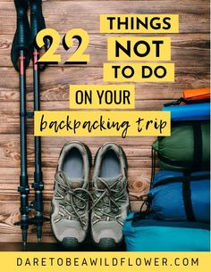 22 mistakes new backpackers make all the time and how to avoid them! Read 10 embarrassing gear mistakes I made on my first backpacking trip + 12 more common newbie backpacking mistakes to avoid. backpacking tips Backpacking List, Camping And Hiking, Camping Gear, Camping Life, Ultralight Backpacking, Backpacking Gear List, Hiking Usa, Hiking Trips, Hiking Food
