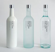 Loving the vertical labelling.   #packaging #bottle #label