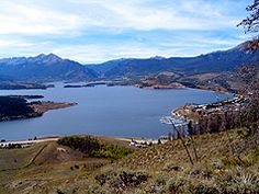VERY easy trail: Tenderfoot Mountain Trai - hiking in Summit County Colorado