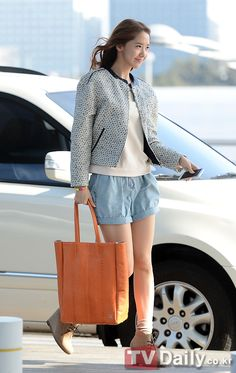 Yoona : 130329 Incheon Airport #WelcomeSNSDtoThailand