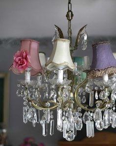Vintage Chic ♥ updated chandelier