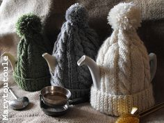 ★ Winter Living : keep your teapots warm