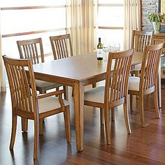 Lodge park collection dining set pint422 our house for Dining room jcpenney
