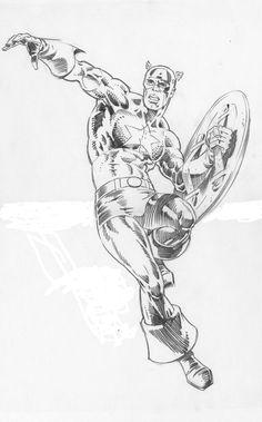 Captain America by Jim Steranko