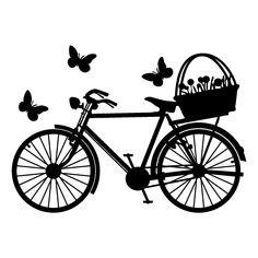 Vinilo Bicicleta de Paseo