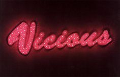 'Vicious'                                                                                                                       NEON SIGN                                                                                                                      ๑෴MustBaSign෴๑
