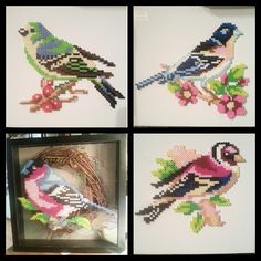 Birds - Perler bead creations by boomboom_vw20th