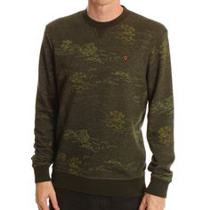 Farah Vintage Khaki Vaughn Sweatshirt www.ark.co.uk #menswear #brands #aw13 #farah