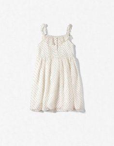 POLKA DOT DRESS - Dresses - Girl (2-14 years) - Kids - ZARA
