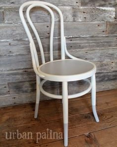 Dip Dyed Bentwood Chairs {Set of Four}