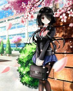 Date a Live - Kurumi Tokisaki Anime Zone, M Anime, Chica Anime Manga, Manga Girl, Manga Kawaii, Kawaii Anime Girl, Anime Art Girl, Date A Live, Pretty Anime Girl
