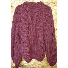 BØLGER - tiden helt store trend i strikkeverdenen Kos, Knitwear, Pullover, Knitting, Sweaters, Beautiful, Fashion, Tricot, Threading