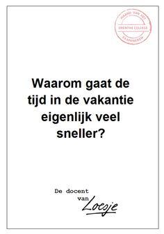 Vakantietijd - Henriëtte Engels - Drenthe College
