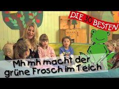 Mh mh macht der grüne Frosch im Teich - Singen, Tanzen und Bewegen || Kinderlieder - YouTube