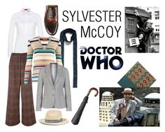 Doctor Who - Sylvester McCoy by vlahos-kron on Polyvore featuring moda, Missoni, GANT, Sonia Rykiel, Church's, Lanvin and Sensi Studio