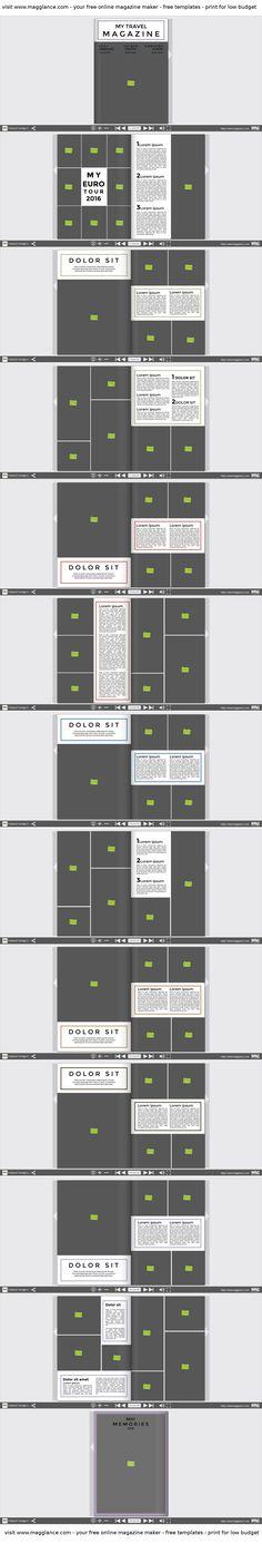 Fotobuch kostenlos online erstellen und günstig drucken unter https://de.magglance.com/fotobuch/fotobuch-erstellen #Fotobuch #Vorlage #Design #Muster #Beispiel #Template #Gestalten #Erstellen #Layout #Fotomagazine #online