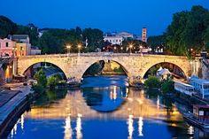 'Ponte Cestio - Rome' by Hercules Milas Love Bridge, Old Greek, Hercules, Long Hoodie, Travel Bags, Old Things, Island, Rome Italy, Bridges