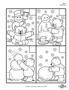 Crafts,Actvities and Worksheets for Preschool,Toddler and Kindergarten.Lots of worksheets and coloring pages. Winter Crafts For Kids, Winter Fun, Winter Theme, Preschool Winter, Preschool Learning, In Kindergarten, Preschool Activities, Teaching, Snow Theme