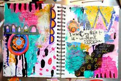 Heart to Art #1: a wonderful, awesome adventure (Journal Girl)