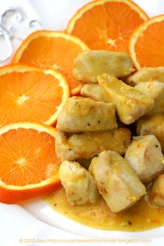 Tacchino zenzero e arancia