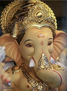Ganesh Pic, Shri Ganesh Images, Ganesh Lord, Ganesha Pictures, Ganesh Statue, Lord Krishna Images, Baby Ganesha, Ganesha Art, Lord Ganesha Paintings