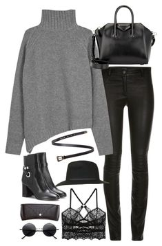 Untitled#4181 by fashionnfacts ❤ liked on Polyvore featuring Joseph, Givenchy, Isabel Marant, ELSE, Topshop, Retrò, H&M and Yves Saint Laurent