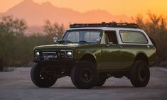 The legendary Jeep once had a competitor vying for pre-SUV supremacy. International Harvester introduced the International Scout in 1961 and continued producing International Scout Ii, International Harvester, South Carolina, Off Road Racing, Chevrolet Blazer, Question Of The Day, Automotive News, Car Shop, Collector Cars