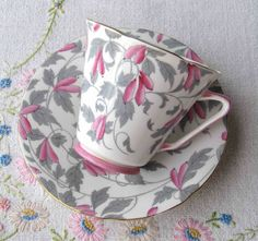Art Deco style Royal Grafton bone china tea at VolvoxVintageShop on Etsy. SOLD!