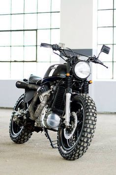 1982 Honda CX 500E Scrambler by Karl Halvardsson
