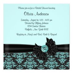 ==>Discount          Teal Blue Black Damask Bridal Shower Personalized Announcement           Teal Blue Black Damask Bridal Shower Personalized Announcement Yes I can say you are on right site we just collected best shopping store that haveDeals          Teal Blue Black Damask Bridal Shower...Cleck Hot Deals >>> http://www.zazzle.com/teal_blue_black_damask_bridal_shower_invitation-161579439621094867?rf=238627982471231924&zbar=1&tc=terrest