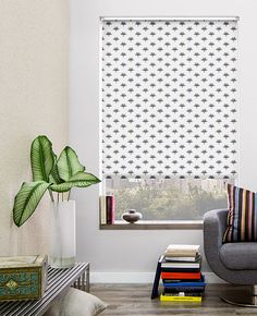 The Shade Store's exclusive Roller collection is sleek, minimal and modern. All shades are handmade with our light-filtering and blackout materials. Visit theshadestore.com or call 800.754.1455 for a catalog and free samples.