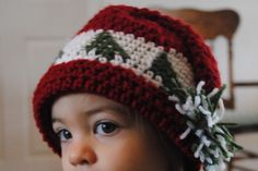 Free Christmas Hat Crochet Pattern Trees go Round – baby, toddler and small child sizes My grandmother was an avid knitter. She made so many things that I still own and treasure to this day. One of the things she made as an adorable jointed bear with a vest and Christmas tree lined hat. My [...]