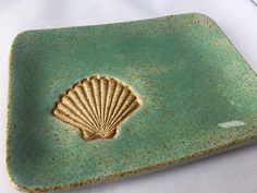 A personal favorite from my Etsy shop https://www.etsy.com/listing/480444062/small-handmade-sea-shell-stamped-plate