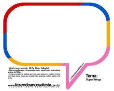 Plaquinhas Divertidas Super Wings 39