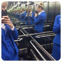"""The best elevator to make an elevator selfie! Mirrors all over!  #crew #crewlife #layover #bilbao #spain #klm #klc #cityhopper #cabincrew #flyingblue #flyhigh #elevatorselfie #selfie #doubletrouble #love #dreamjob #bio #iphone #potd #ootd #tumblr #blogger"" Photo taken by @senjam on Instagram, pinned via the InstaPin iOS App! http://www.instapinapp.com (10/22/2014)"