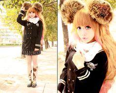 <3<3<3 (by Chibi Bunny P) http://lookbook.nu/look/4418875-3-3-3