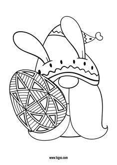 Cute Easter Day Coloring Page Christmas Unicorn, Unicorn Halloween, Halloween Books, Coloring Apps, Coloring For Kids, Adult Coloring, Instagram Logo, Lol Dolls, Pokemon
