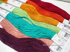 Sublime Stitch Color Palettes Embroidery Floss- Parlor collection