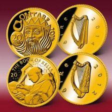 """Goldeuro-Set """"20 Gold-Euro Irland"""""""
