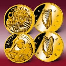 "Goldeuro-Set ""20 Gold-Euro Irland"""
