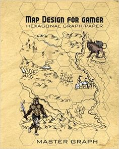 Map Design For Gamer Plain Square Graph Paper For Board Game