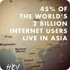 Internet users in Asia